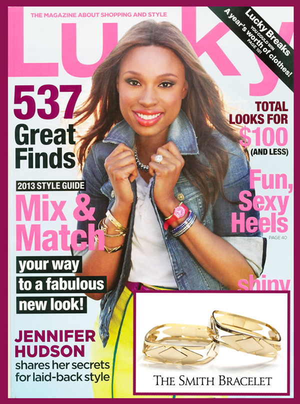 Lucky Magazine May 11: Jené DeSpain